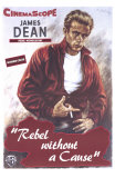 "Ung rebell, ""Rebel Without a Cause"", 1955 Planscher"