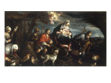 The Flight into Egypt Prints by Jacopo Bassano
