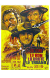 The Good, The Bad and The Ugly, French Movie Poster, 1966 Prints