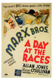 A Day at the Races, 1937 Poster