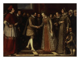 The Marriage of Francesco de&#39; Medici andJoanna of Austria Giclee Print by Jacopo Ligozzi