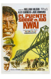 Bridge on the River Kwai, Spanish Movie Poster, 1958 Poster
