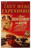They Were Expendable, 1945 Posters