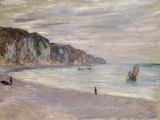 Les Falaises a Pourville, 1882 Giclee Print by Claude Monet
