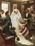 Le Jour du Mariage Impression giclée par Albert Guillaume