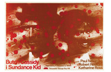 Butch Cassidy and the Sundance Kid, Polish Movie Poster, 1969 Print