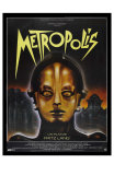 Metropolis, French Movie Poster, 1926 Prints