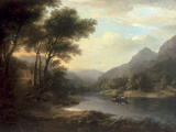 The Ferry at Inver Prints by Alexander Nasmyth