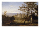 A View of Conishead Priory, Lancashire,the Seat of Colonel T.R.G. Braddyl Giclee Print by James Wilson Carmichael
