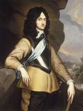 Portrait of Charles II Giclee Print by Adriaen Hanneman