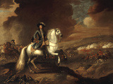 William III at the Battle of the Boyne, July 1st 1690 Giclee Print by Jan Wyck