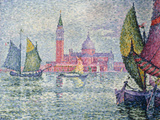 Venise, Saint-Georges, 1908 Reproduction procédé giclée par Paul Signac