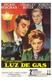 Gaslight, Spanish Movie Poster, 1944 Affiches