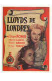 Lloyds of London, Spanish Movie Poster, 1936 Pósters