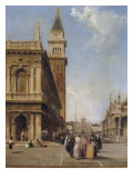 St Mark's Square, Venice Giclee Print by Edward Pritchett
