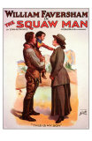The Squaw Man, 1907 Posters