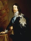 Portrait of Charles I Kunstdrucke von Anthony Van Dyck