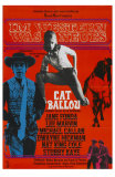 Cat Ballou, German Movie Poster, 1965 Photo