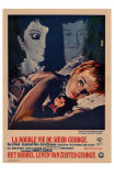 The Killing of Sister George, Belgian Movie Poster, 1969 Print