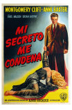 I Confess, Argentine Movie Poster, 1953 Photo