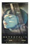 Metropolis, German Movie Poster, 1926 Posters