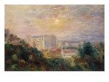 Vue de Montmartre, 1885 Posters by Pierre-Auguste Renoir