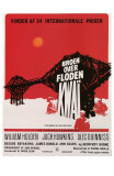 Bridge on the River Kwai, Danish Movie Poster, 1958 Prints