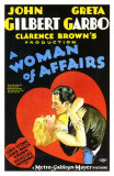 A Woman of Affairs, 1928 Poster