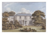 Design for a House to be Built on Clapham Common by William Holme Esq. Giclee Print by Humphrey Repton