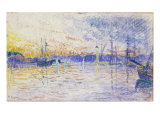 St Tropez, 1901 Prints by Paul Signac