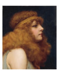 An Auburn Beauty, 1895 Impresso gicle por John William Godward