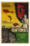 Fantomas, Argentine Movie Poster, 1964 Prints