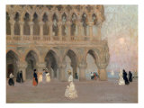 The Doge's Palace, Venice Giclee Print by Emmanuel Phillips Fox