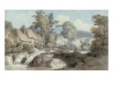 Ivy Bridge, Devon, 1775 Print by Francis Towne