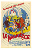 The Wizard of Oz, French Movie Poster, 1939 Print
