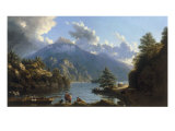On the Shores of Loch Katrine Giclee Print by John Knox