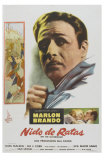 On the Waterfront, Argentine Movie Poster, 1954 Posters
