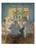 Afternoon Tea, 1919 Giclee Print by Anna Kirstine Ancher