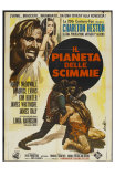 Planet of the Apes, Italian Movie Poster, 1968 Psters