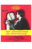 The Umbrellas of Cherbourg, French Movie Poster, 1964 Pósters
