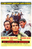 The Guns of Navarone, Spanish Movie Poster, 1961 Posters
