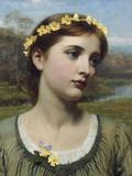 Spring Maiden, 1884 Giclee Print by Frank Bernard Dicksee