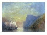 On the Rhine, c.1830 Prints by William Turner