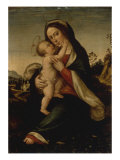 The Madonna and Child in a Landscape Giclee Print by Fra Bartolomeo