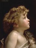Young John the Baptist Impression giclée par William Adolphe Bouguereau
