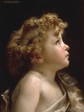 Young John the Baptist Art by William Adolphe Bouguereau