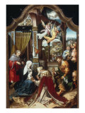 The Adoration of the Magi Giclee Print by Jan De Beer