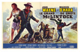 McLintock, Belgian Movie Poster, 1963 Print