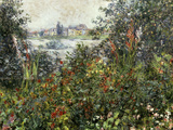 Fleurs a Vetheuil, 1880 Giclee Print by Claude Monet