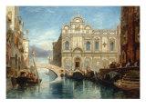 Scuola di San Marco, Venice, 1860 高画質プリント : ジェームズ・ホランド